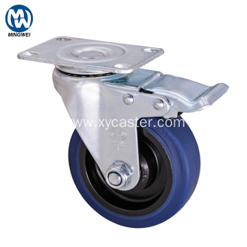 Medium Duty Rubber Caster Wheel