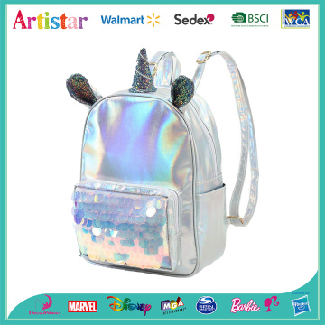Unicorn white laser backpack