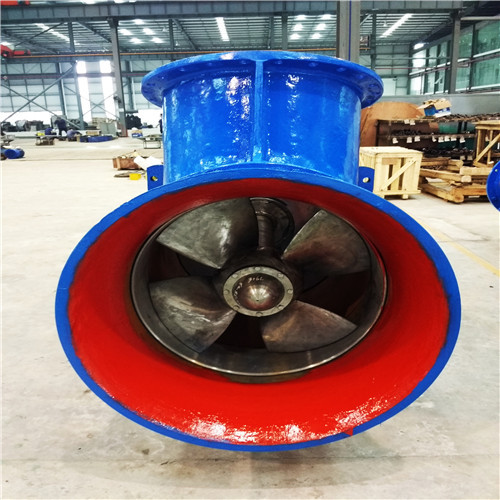 Big Horizontal Axial Flow Pump sold by factory