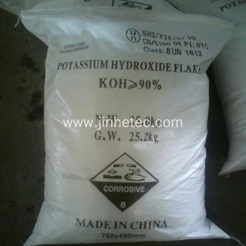 90% Potassium Hydroxide White Flake