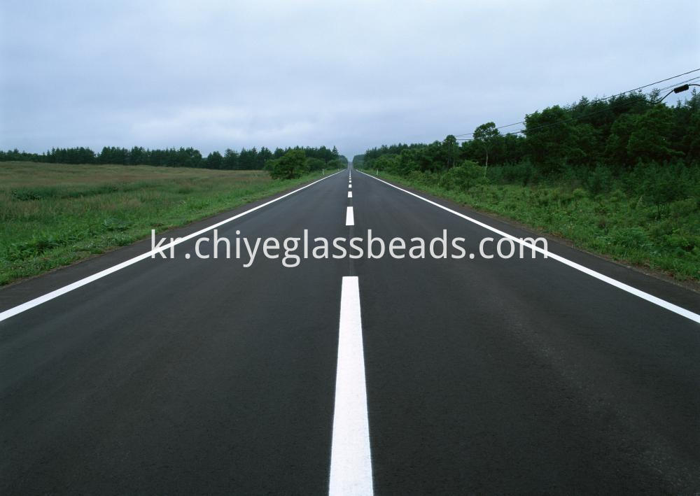 glass beads for road sign