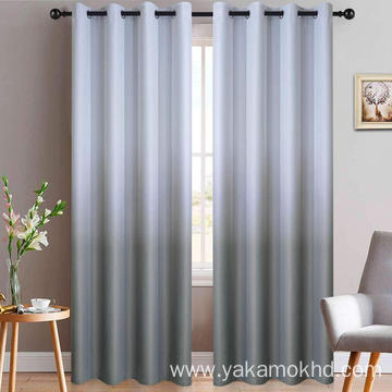 Grey Ombre Curtains with Grommet