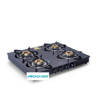 Glen Forged Brass Burner Black Gas Stove