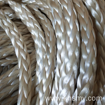 12 Stands Braided UHMWPE Mooring Rope