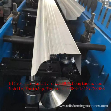 Color steel rain gutter machine for pre-fabricated houses