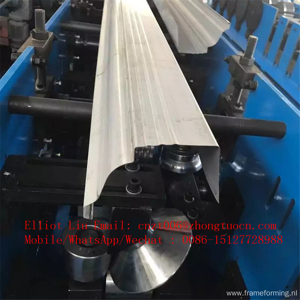 Rainwater collect channel forming machine