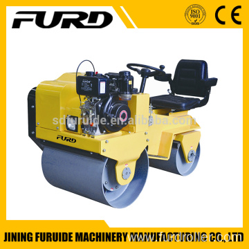 800kg Ride-on Double Drum Baby Road Roller for Sale (FYL-850)