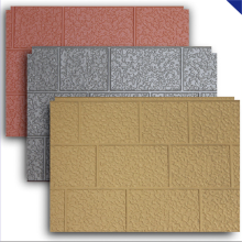 Metal cladding panels foam insulation panels
