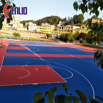 Multi-purpose Outdoor Sports Flooring Court Tiles