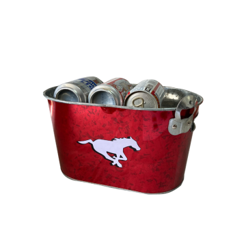 ice guzzle bucket inner handle with bottle opener