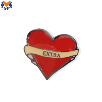 Wholesale festival heart lapel pin button