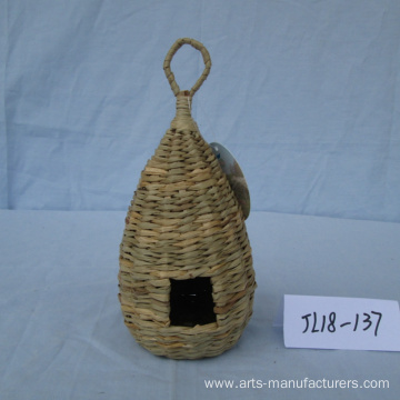 Weaving  Sea Grass Bird House