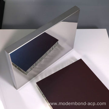 Mirror Wall Panel Aluminium Cladding Composite Panel
