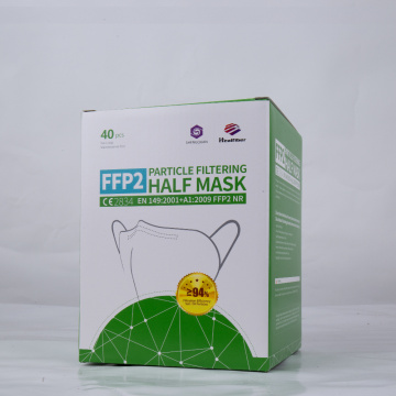 FFP2 Filtration>95% with Comfortable Elastic Ear Loop