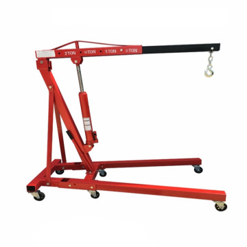 2Ton hydraulic shop crane foldable engine crane