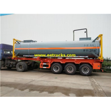 20ft 28CBM Hydrochloric Acid Tank Containers