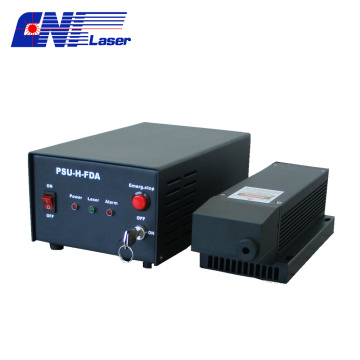5µJ 266nm ultraviolet passively Q-switched pulse laser