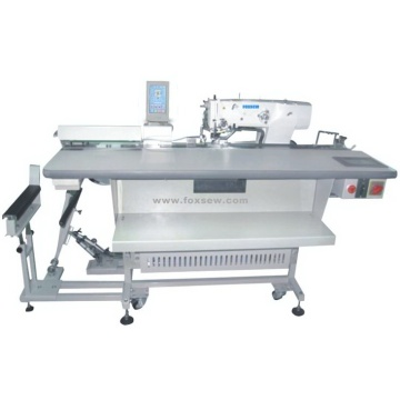 Automatic Feeding Electronic Straight ButtonHole Machine