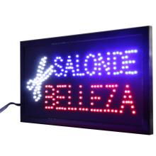 CHENXI Salon De Belleza /Barber Shop Hair Cutting Store Open Busines Neon Signs Graphics Flashing Led Advertising Board Indoor.