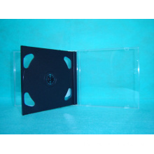 standard cd case standard cd box standard cd cover 10.4mm double jewel with black tray