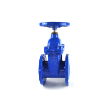 JKTL ductile iron GGG50 Groove type clamp rising stem gate valve