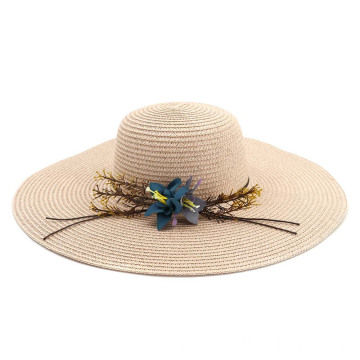 Hot sales straw hat store retro summer hat
