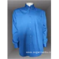 97%cotton 3% spandex men's shirt long sleeve