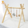 Wholesale Eco-Friendly Elephant Beech Wood Baby Play Gym