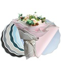 Round flower waterproof wrapping paper suppliers