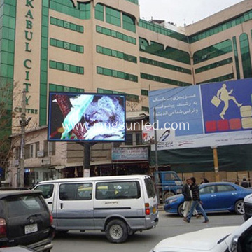 Outdoor LED Billboard Message Advertising Display