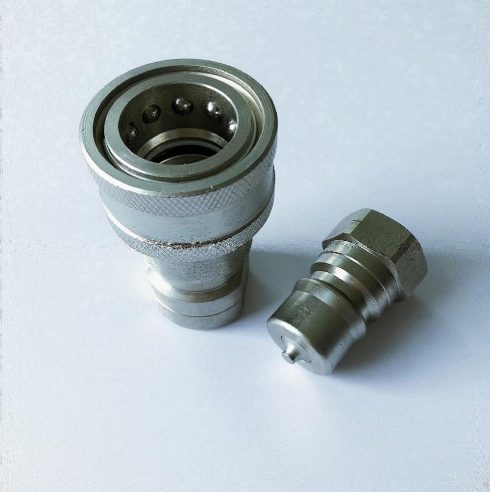 ISO7241-1B 20 size 3/4-14 NPT ring-nbr quick coupling