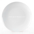 12-inch ,30-cm White Porcelain Coupe Charge plate