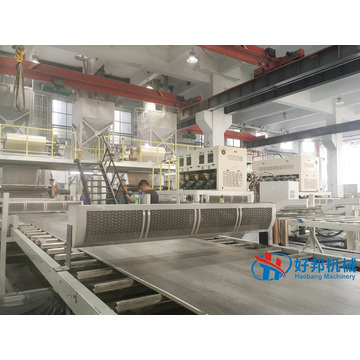 SPC DIY Waterproof Flooring Sheet Production line