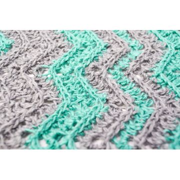 Handmade 100% Cotton Crochet Blanket baby