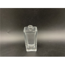 30ml rectangular transparent spray glass perfume bottle