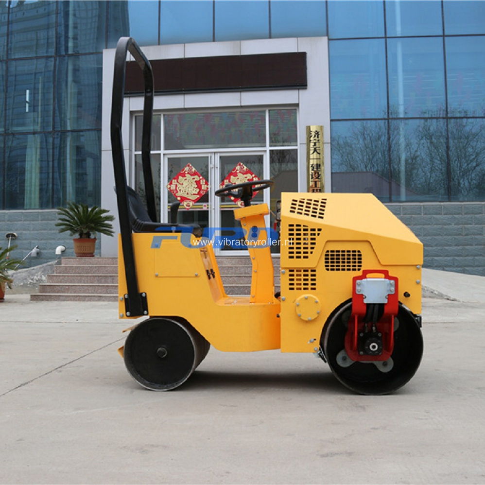 Baby Vibratory Drum Roller Compactor Machine