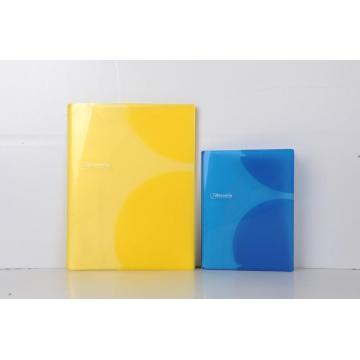 Clear identification brilliant color file folders