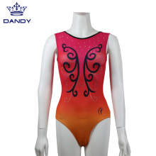 New Design Gymnastic Dance Suit With Gradient Color