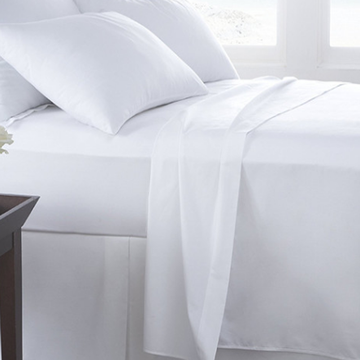 300TC Poly/cotton 25/75 Sateen Bed Sheets