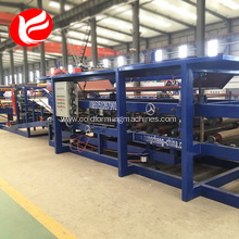 Automatic roof eps sandwich wall panel production line