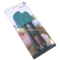 2pc non-stick rubber spatula set