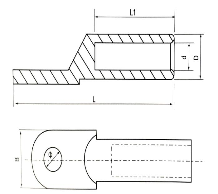 Copper Connecting Terminal Lug
