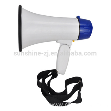 Electric Portable Megaphone/ Magnetic Speaker 10 W/Bull Horn
