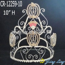 pumpkins diamond Halloween pageant crown