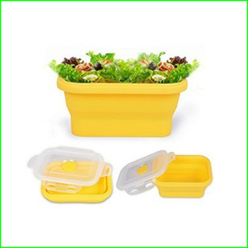 High Quality Collapsible Silicone Lunch Bowl