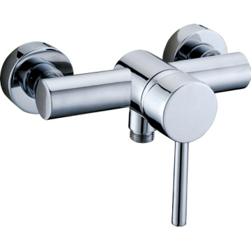 Polish Chrome Finish Exposed Shower Faucet