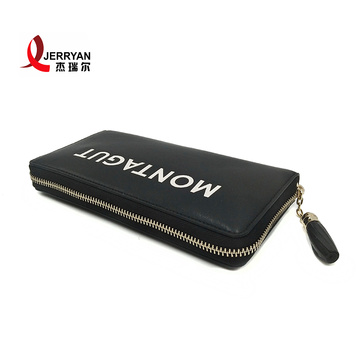 Nyt look Slim Leather Zippy Coin Wallet