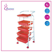 Beauty Salon Plastic Trolley