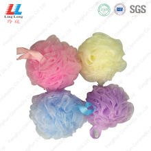 Colorful shower scrub flower bath sponge cleaner
