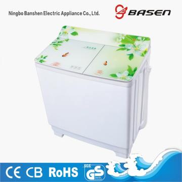 Glass Cover 10KG Twin Tub Washing Machine